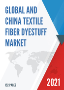 Global and China Textile Fiber Dyestuff Market Insights Forecast to 2027