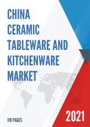 China Ceramic Tableware and Kitchenware Market Report Forecast 2021 2027