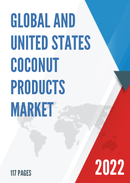 Global Coconut Products Market Size Status and Forecast 2021 2027