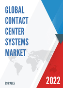 Global Contact Center Systems Market Size Status and Forecast 2021 2027