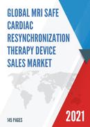 Global MRI Safe Cardiac Resynchronization Therapy Device Sales Market Report 2021
