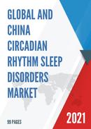 Global and China Circadian Rhythm Sleep Disorders Market Size Status and Forecast 2021 2027