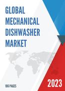 Global and United States Mechanical Dishwasher Market Insights Forecast to 2027