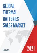 Global Thermal Batteries Sales Market Report 2021