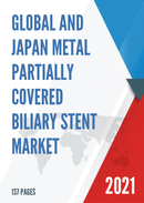 Global and Japan Metal Partially Covered Biliary Stent Market Insights Forecast to 2027