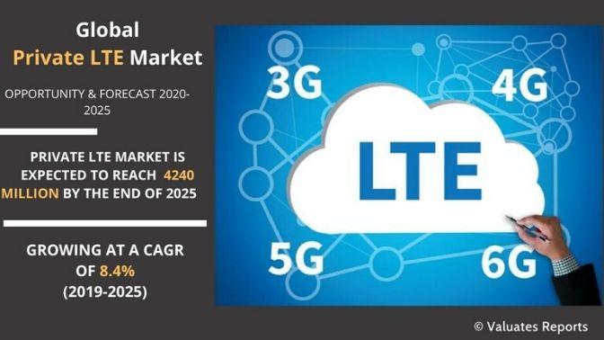 private Lte Market size