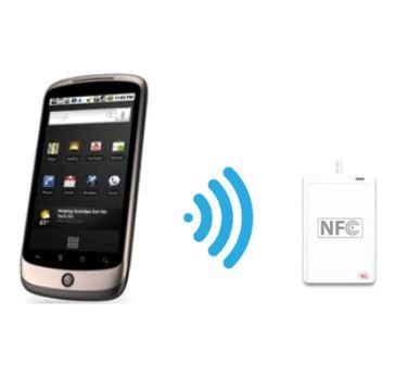 NFC (Near Field Communication) enabled hardware wallet